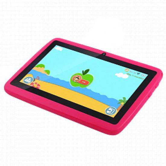 CCIT K12 Kids Tablet, 7 inch, Android 7.0, 16GB, 2GB, Wi-Fi, Dual Camera, Pink