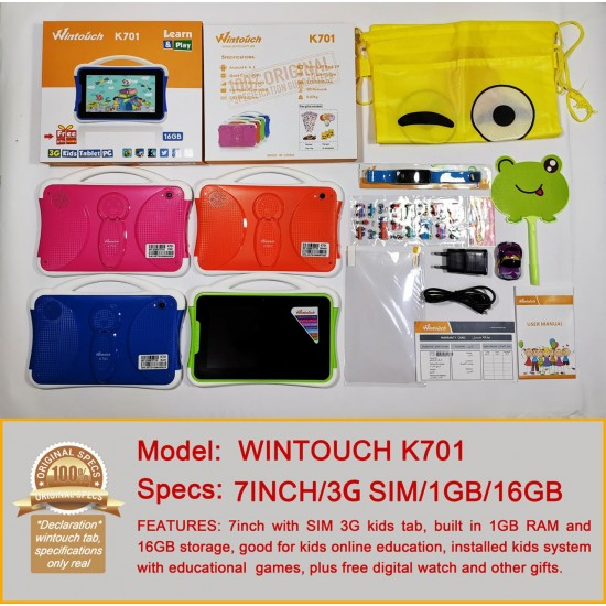 Wintouch K701 Kids Educational Android Tablet